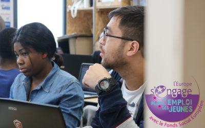 Le dispositif IEJ (Initiative pour l'Emploi des Jeunes) a soutenu le projet « Lab briq sociale »