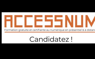 Nouvelle promotion Accessnum pour le 28 Novembre.