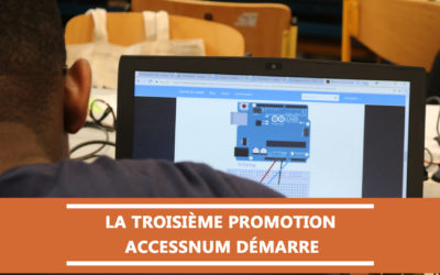 Accessnum : la troisième promotion fait sa rentrée